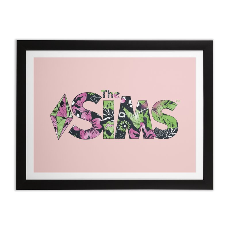 The Sims Florals Home Framed Fine Art Print by The Sims Official Threadless Store