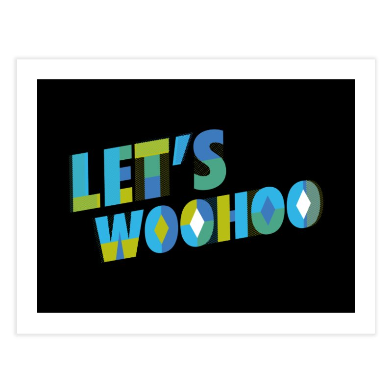 Let's WooHoo Home Fine Art Print by The Sims Official Threadless Store