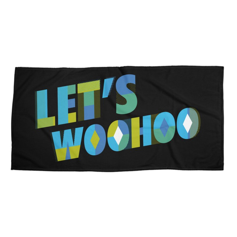 Let's WooHoo Accessories Beach Towel by The Sims Official Threadless Store