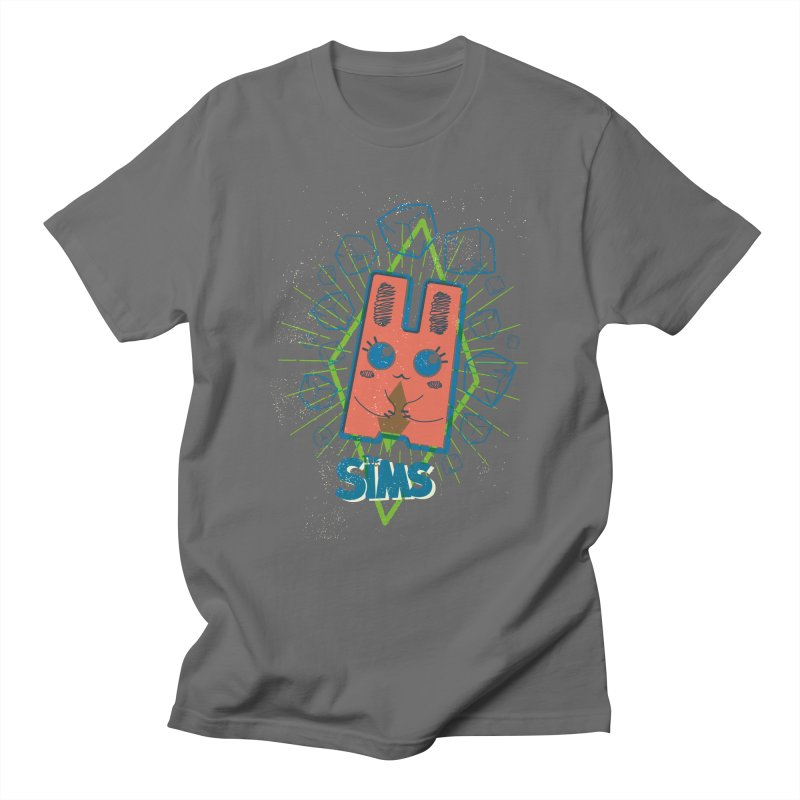 Freezer Bunny (on the Rocks) Men's T-Shirt by The Sims Official Threadless Store