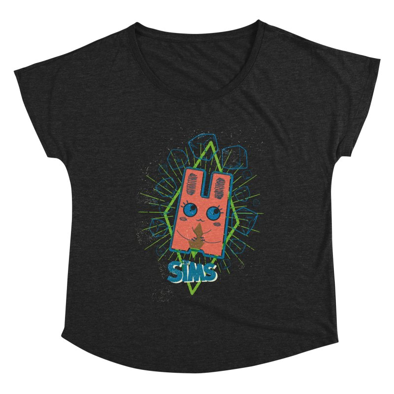 Freezer Bunny (on the Rocks) Women's Dolman Scoop Neck by The Sims Official Threadless Store