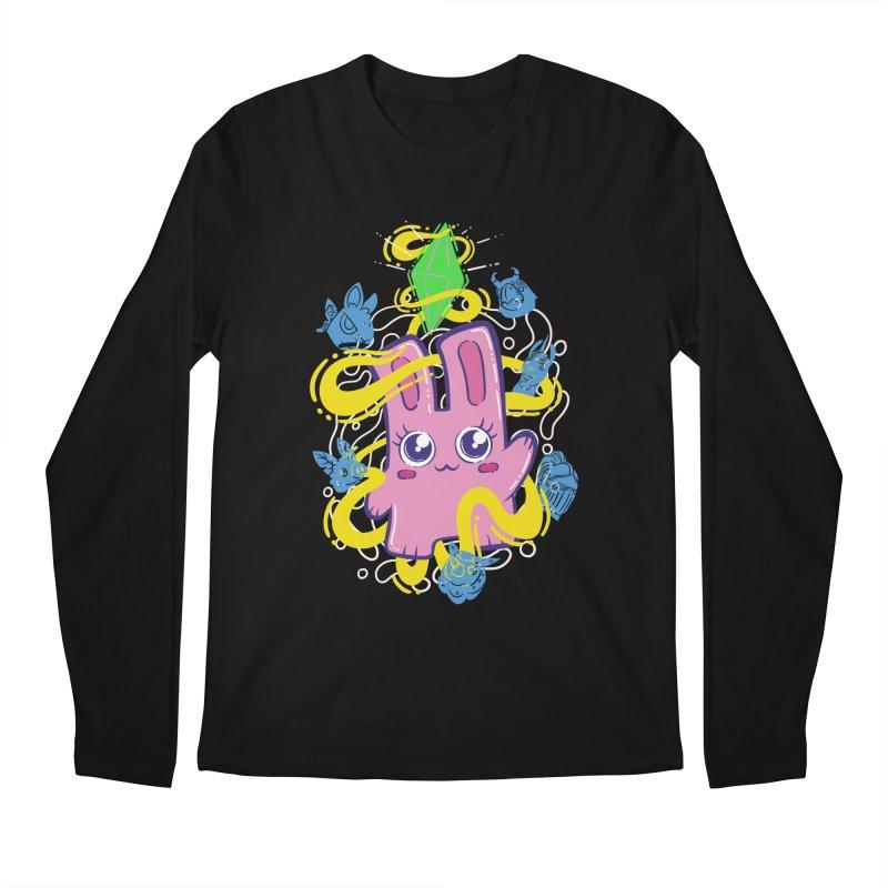 Freezer Bunny & Friends Men's Regular Longsleeve T-Shirt by The Sims Official Threadless Store