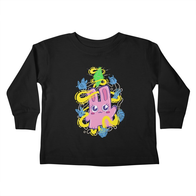 Freezer Bunny & Friends Kids Toddler Longsleeve T-Shirt by The Sims Official Threadless Store