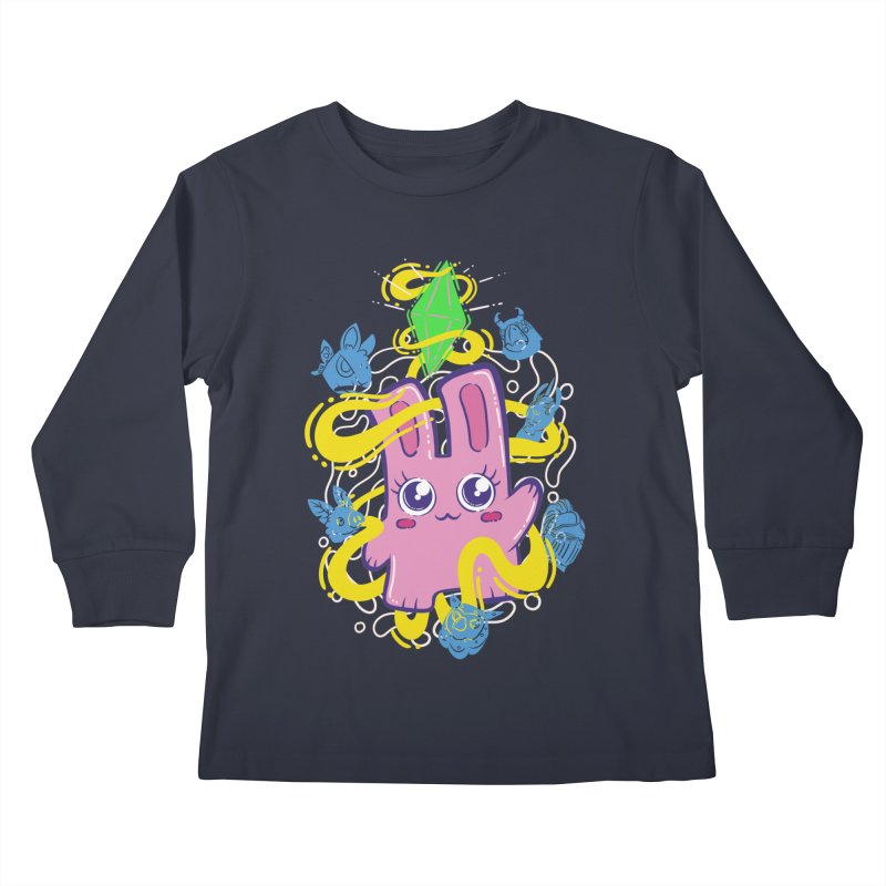 Freezer Bunny & Friends Kids Longsleeve T-Shirt by The Sims Official Threadless Store