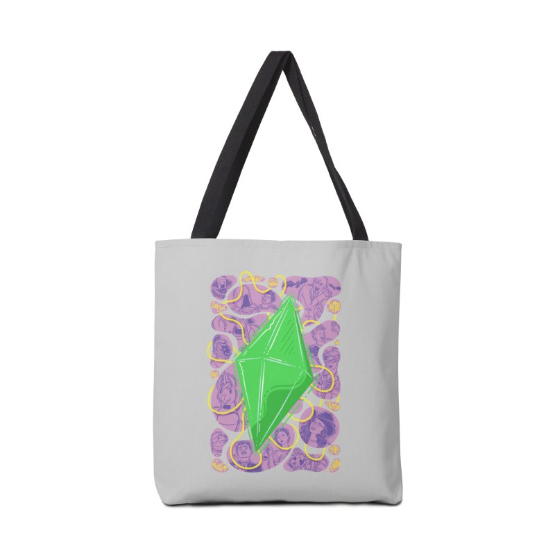 Funky Plumbob Accessories Bag by The Sims Official Threadless Store