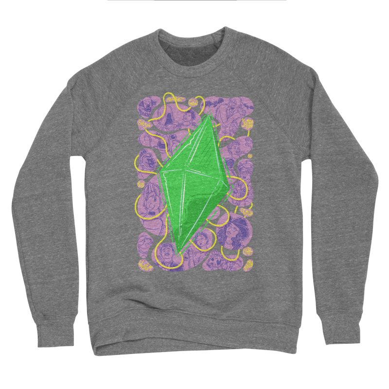 Funky Plumbob Men's Sweatshirt by The Sims Official Threadless Store