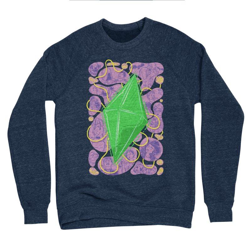 Funky Plumbob Men's Sponge Fleece Sweatshirt by The Sims Official Threadless Store
