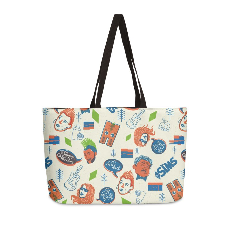 Simlish Level 1 Accessories Weekender Bag Bag by The Sims Official Threadless Store