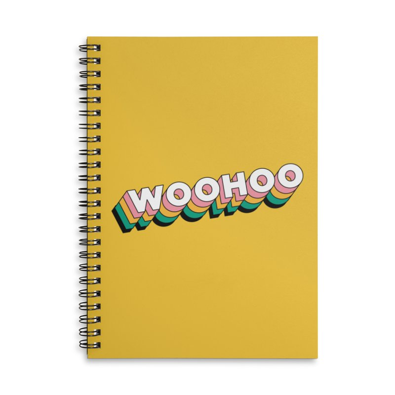 WooHoo - White Accessories Lined Spiral Notebook by The Sims Official Threadless Store