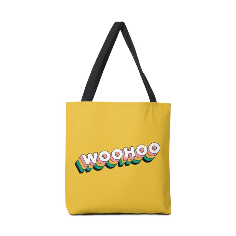 WooHoo - White Accessories Bag by The Sims Official Threadless Store