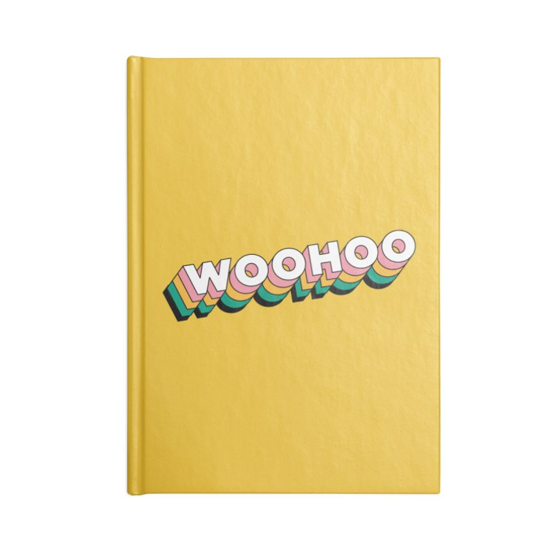 WooHoo - White Accessories Lined Journal Notebook by The Sims Official Threadless Store
