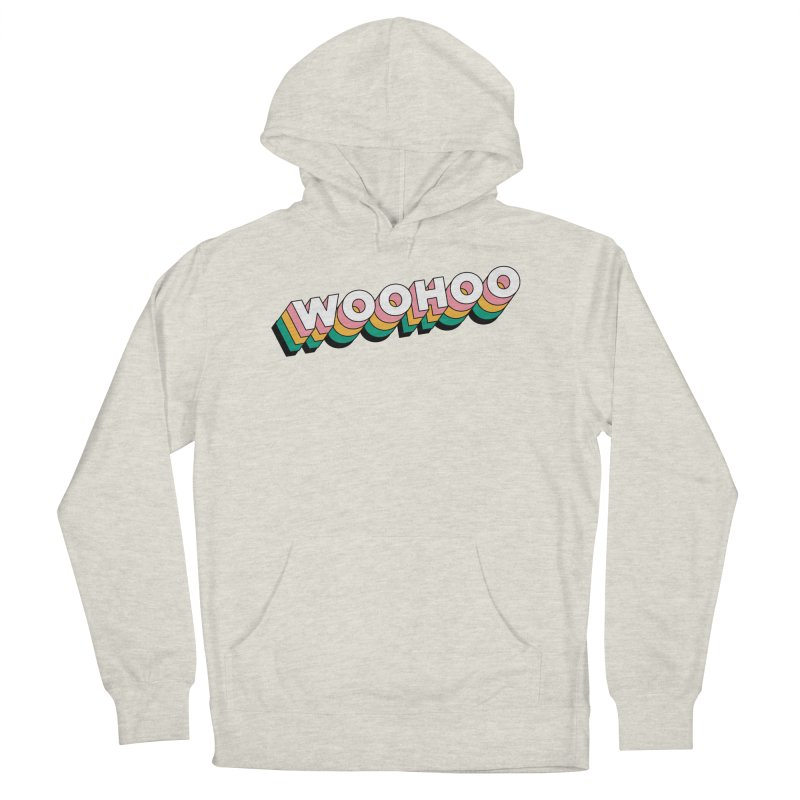 WooHoo - White Women's French Terry Pullover Hoody by The Sims Official Threadless Store