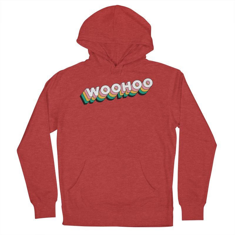 WooHoo - White Men's French Terry Pullover Hoody by The Sims Official Threadless Store