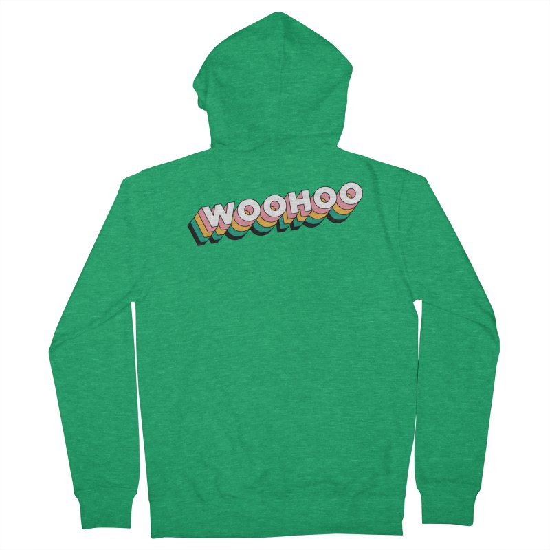 WooHoo - White Women's Zip-Up Hoody by The Sims Official Threadless Store