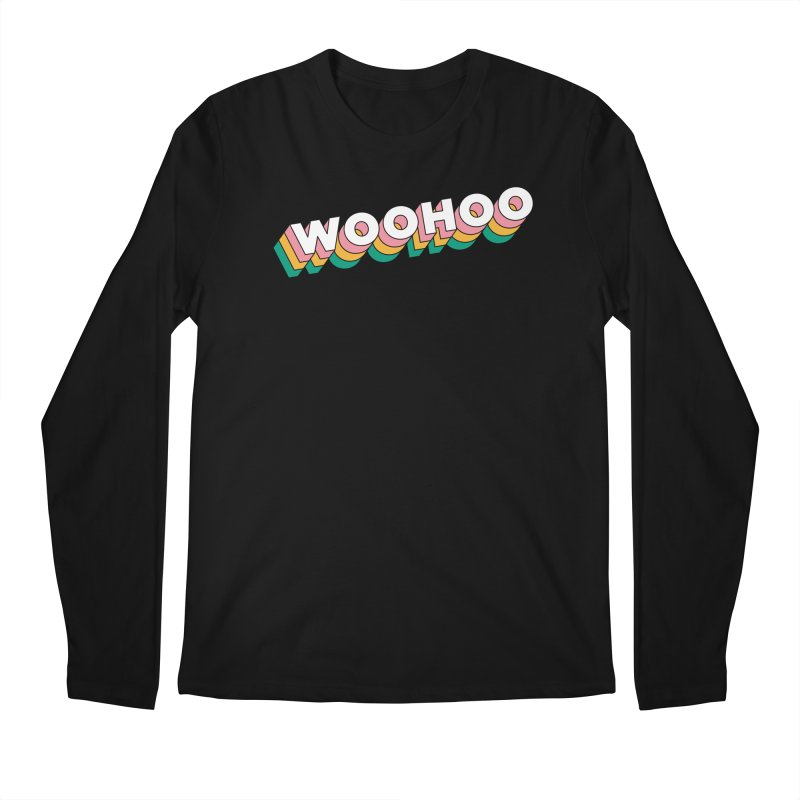 WooHoo - White Men's Regular Longsleeve T-Shirt by The Sims Official Threadless Store