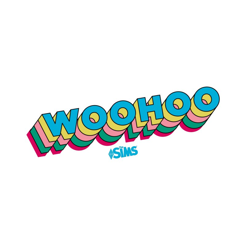 WooHoo - Blue by The Sims Official Threadless Store