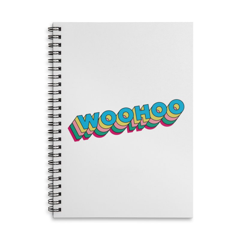 WooHoo - Blue Accessories Lined Spiral Notebook by The Sims Official Threadless Store