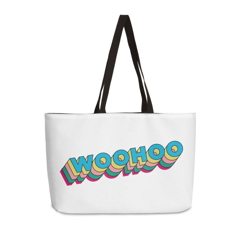 WooHoo - Blue Accessories Weekender Bag Bag by The Sims Official Threadless Store