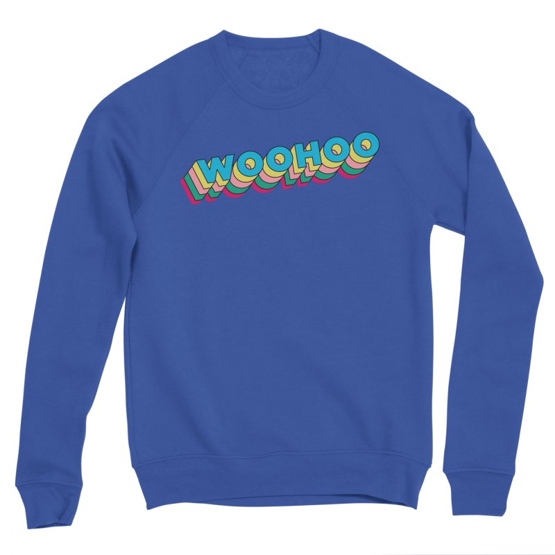 WooHoo - Blue Men's Sweatshirt by The Sims Official Threadless Store