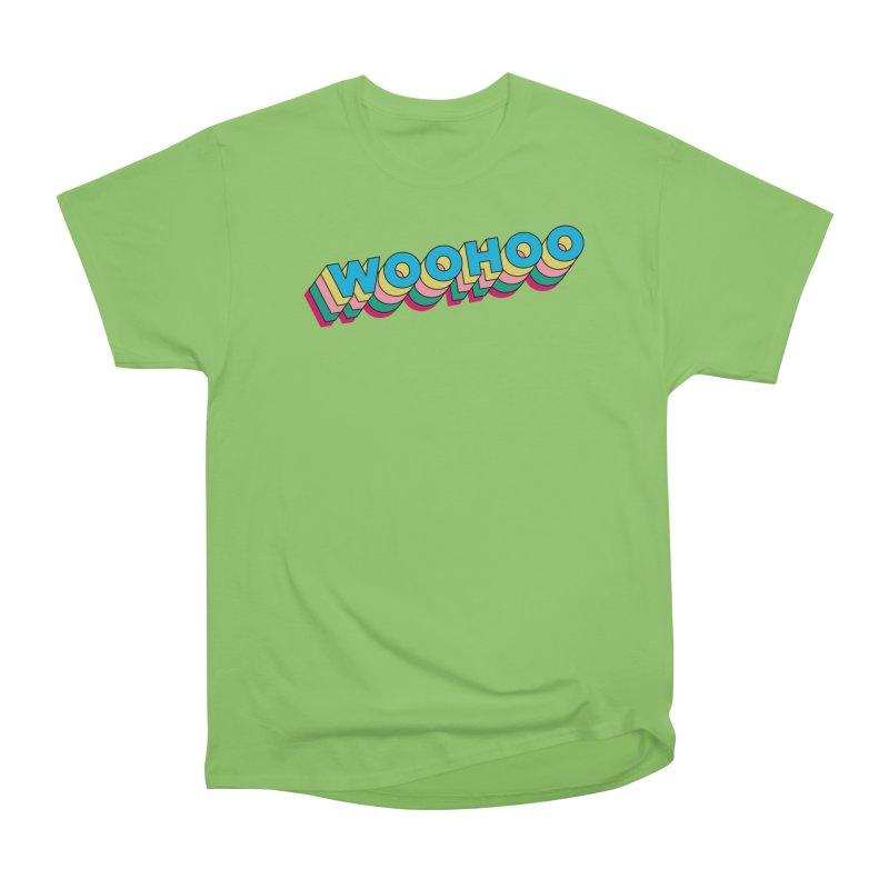 WooHoo - Blue Men's Heavyweight T-Shirt by The Sims Official Threadless Store