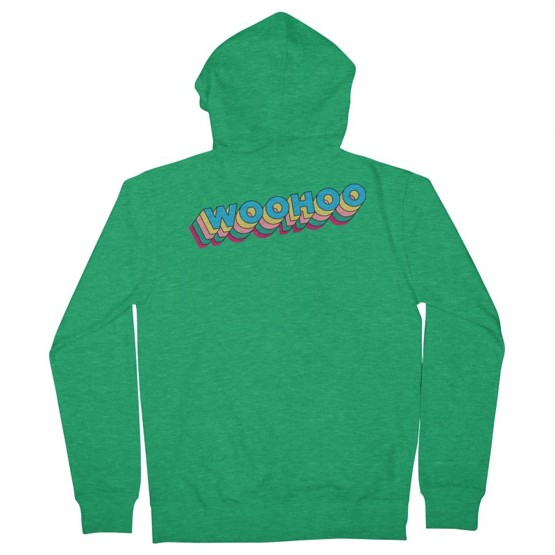 WooHoo - Blue Men's Zip-Up Hoody by The Sims Official Threadless Store