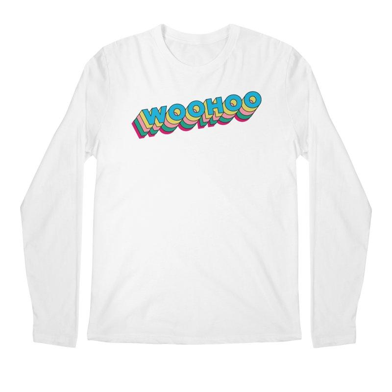 WooHoo - Blue Men's Regular Longsleeve T-Shirt by The Sims Official Threadless Store