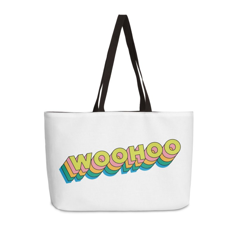 WooHoo - Yellow Accessories Weekender Bag Bag by The Sims Official Threadless Store