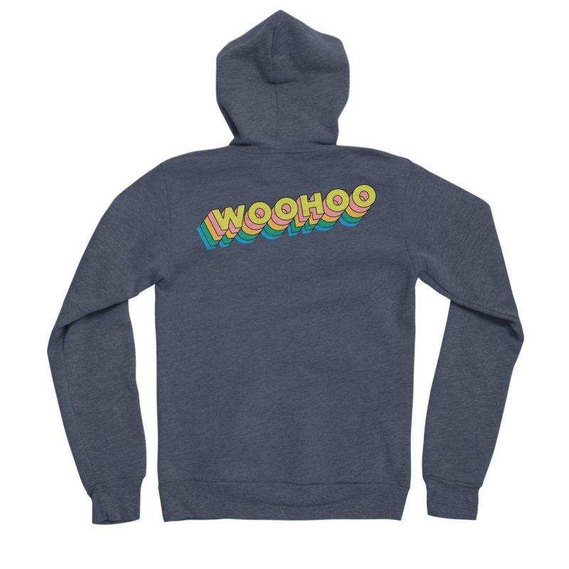 WooHoo - Yellow Men's Sponge Fleece Zip-Up Hoody by The Sims Official Threadless Store
