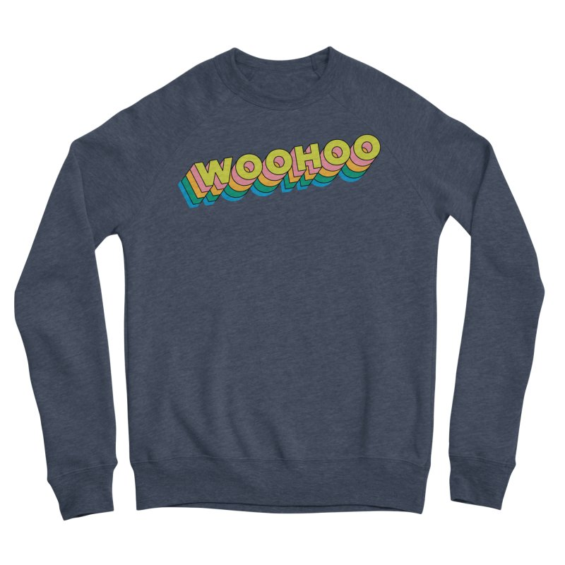 WooHoo - Yellow Men's Sponge Fleece Sweatshirt by The Sims Official Threadless Store