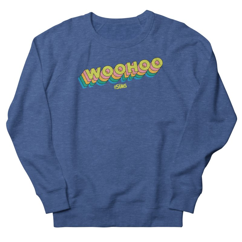 WooHoo - Yellow Men's Sweatshirt by The Sims Official Threadless Store