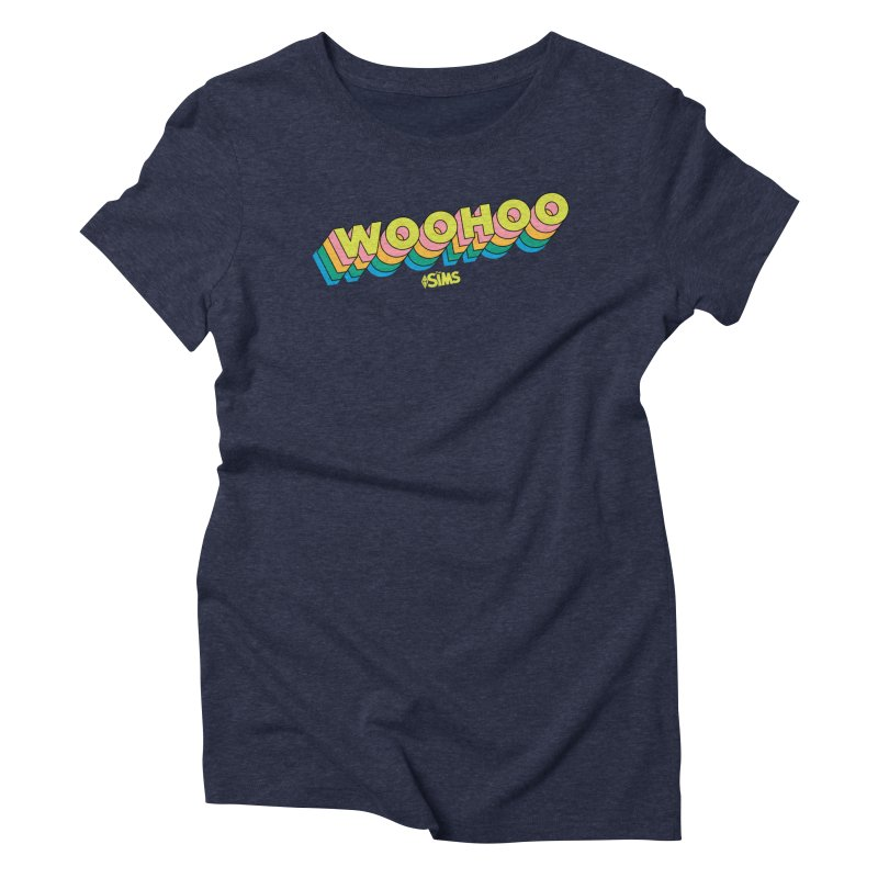 WooHoo - Yellow Women's Triblend T-Shirt by The Sims Official Threadless Store