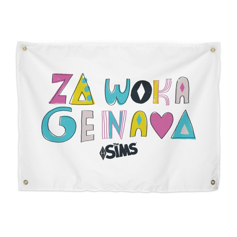 A Simlish Compliment Home Tapestry by The Sims Official Threadless Store