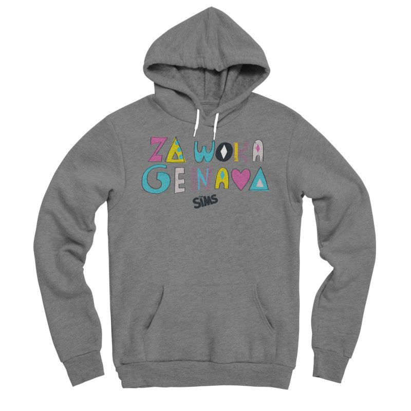 A Simlish Compliment Men's Sponge Fleece Pullover Hoody by The Sims Official Threadless Store