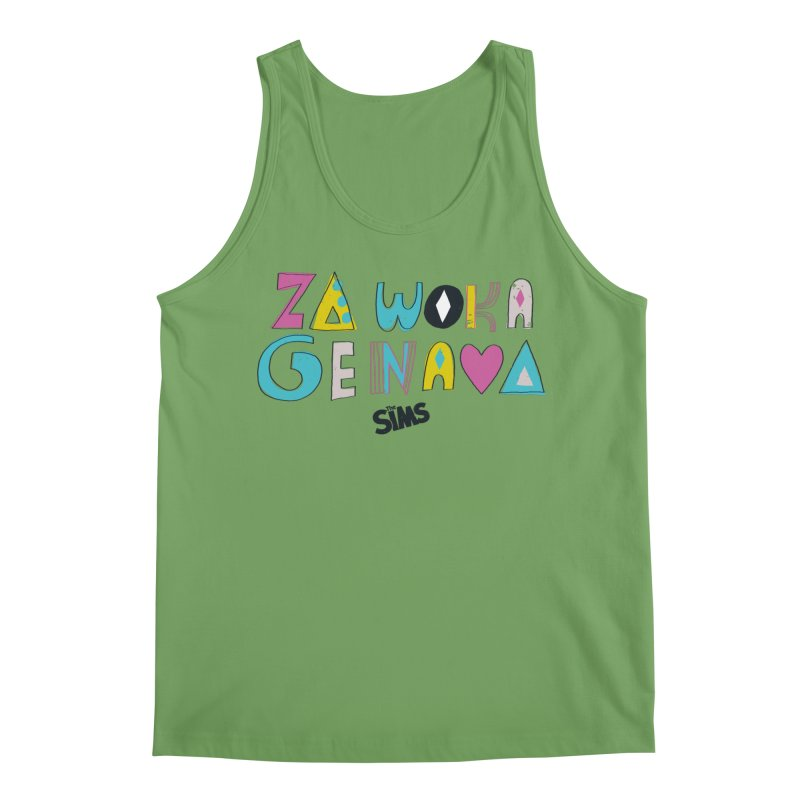A Simlish Compliment Men's Tank by The Sims Official Threadless Store