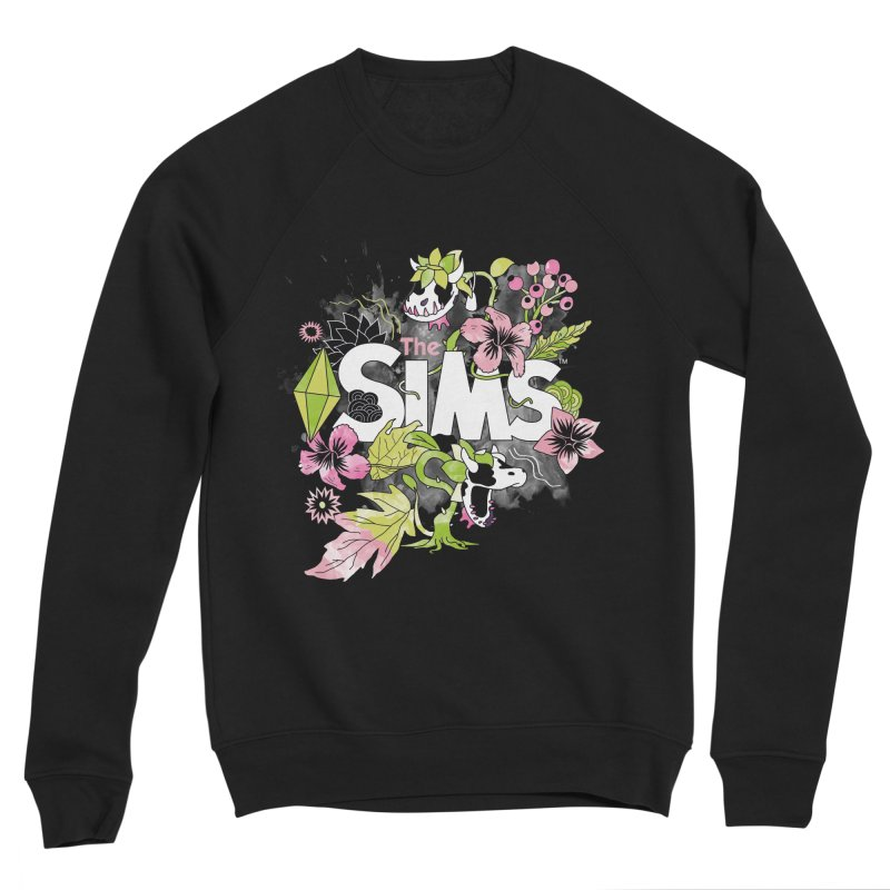 The Sims Garden Women's Sponge Fleece Sweatshirt by The Sims Official Threadless Store
