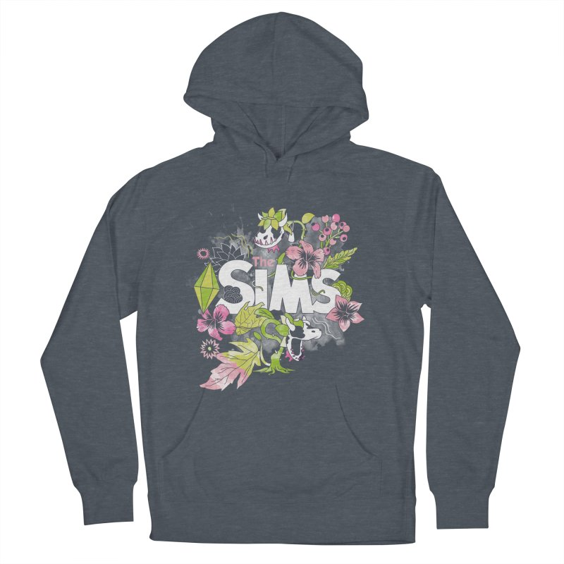 The Sims Garden Men's French Terry Pullover Hoody by The Sims Official Threadless Store