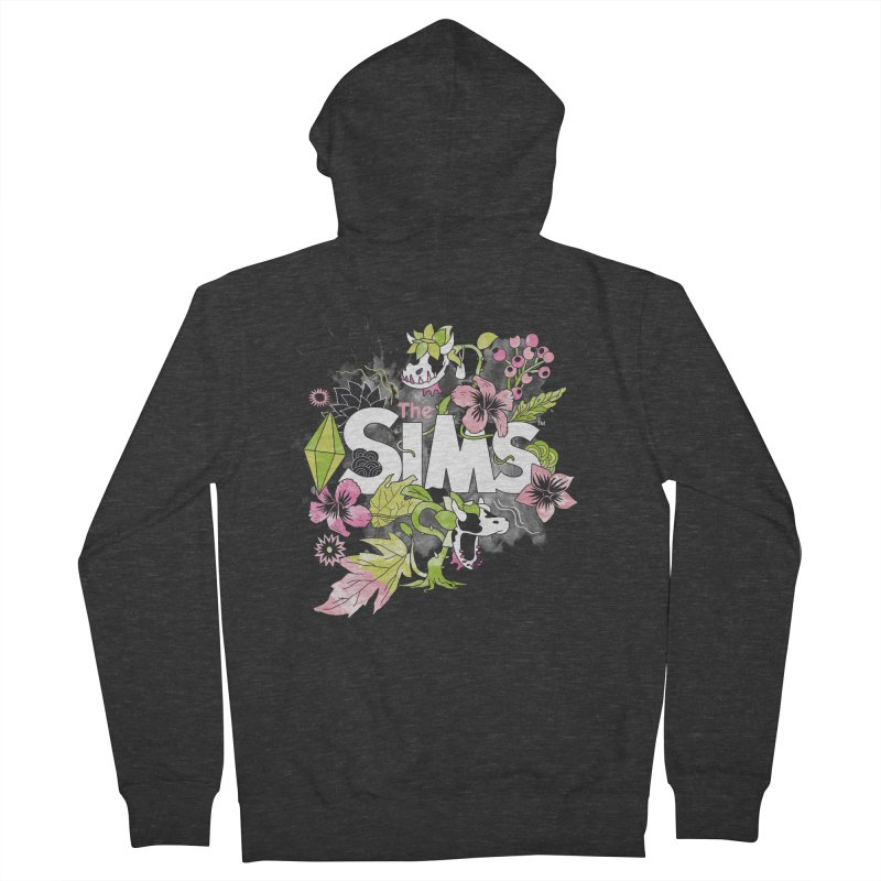 The Sims Garden Women's French Terry Zip-Up Hoody by The Sims Official Threadless Store