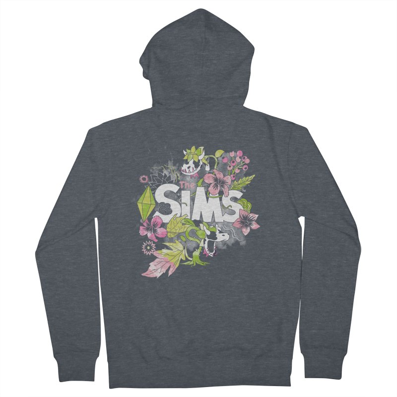 The Sims Garden Men's French Terry Zip-Up Hoody by The Sims Official Threadless Store