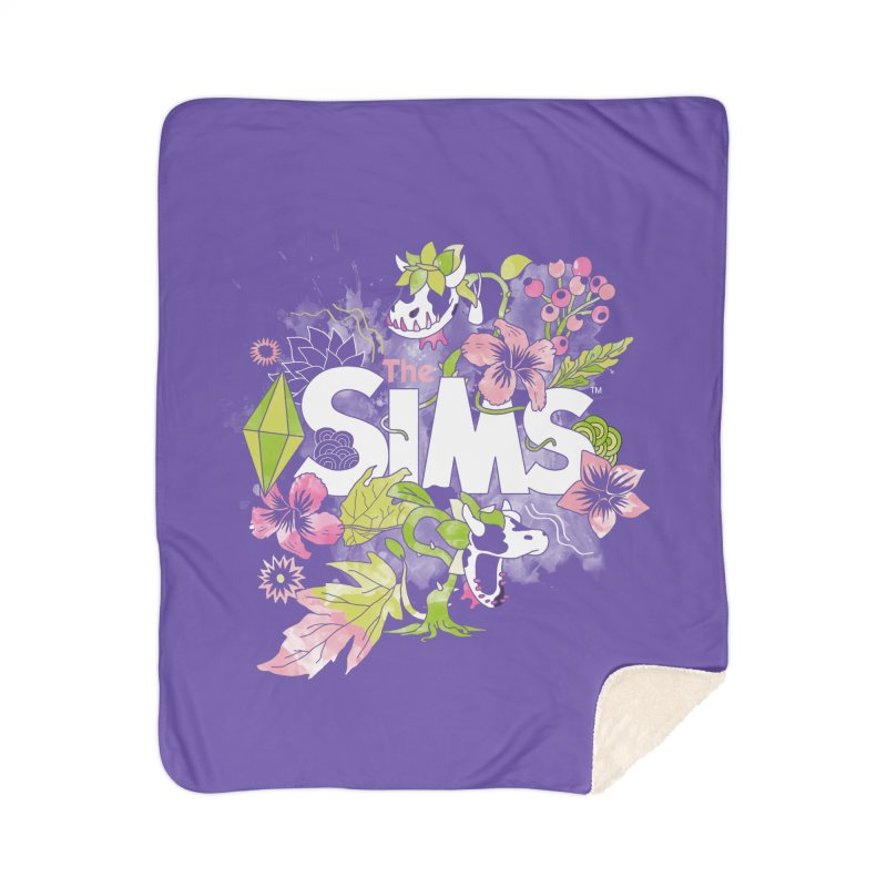 The Sims Garden Home Blanket by The Sims Official Threadless Store