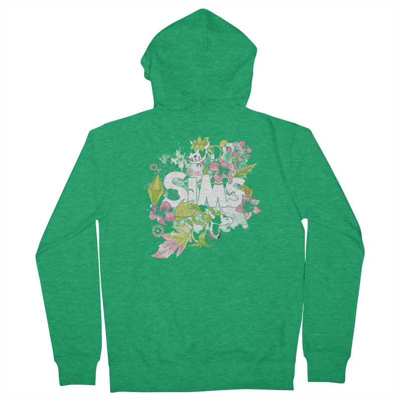 The Sims Garden Men's Zip-Up Hoody by The Sims Official Threadless Store