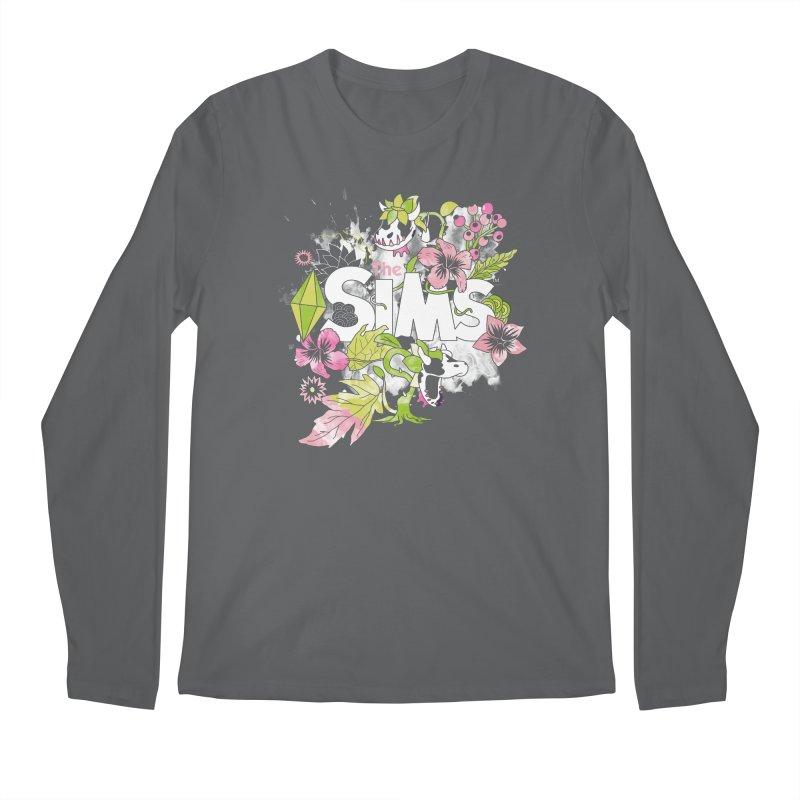 The Sims Garden Men's Regular Longsleeve T-Shirt by The Sims Official Threadless Store