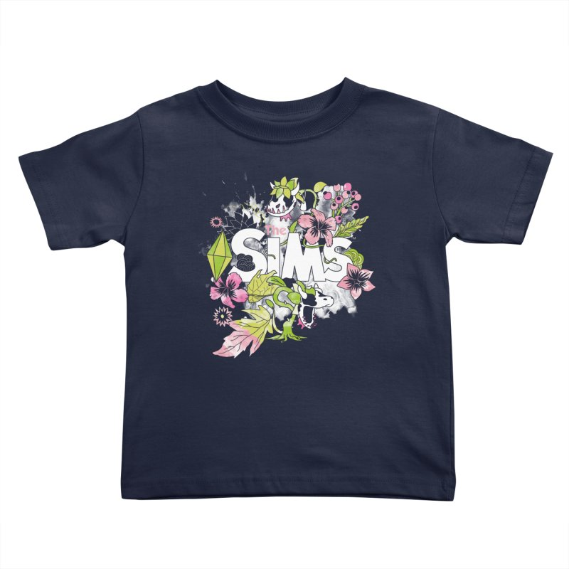 The Sims Garden Kids Toddler T-Shirt by The Sims Official Threadless Store
