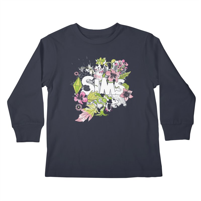 The Sims Garden Kids Longsleeve T-Shirt by The Sims Official Threadless Store