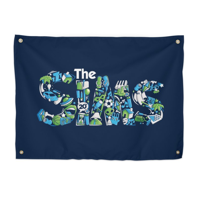 The Sims Home Tapestry by The Sims Official Threadless Store