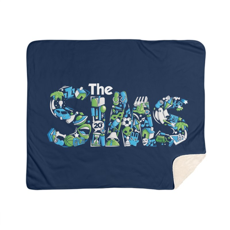 The Sims Home Blanket by The Sims Official Threadless Store