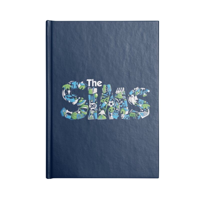 The Sims Accessories Lined Journal Notebook by The Sims Official Threadless Store