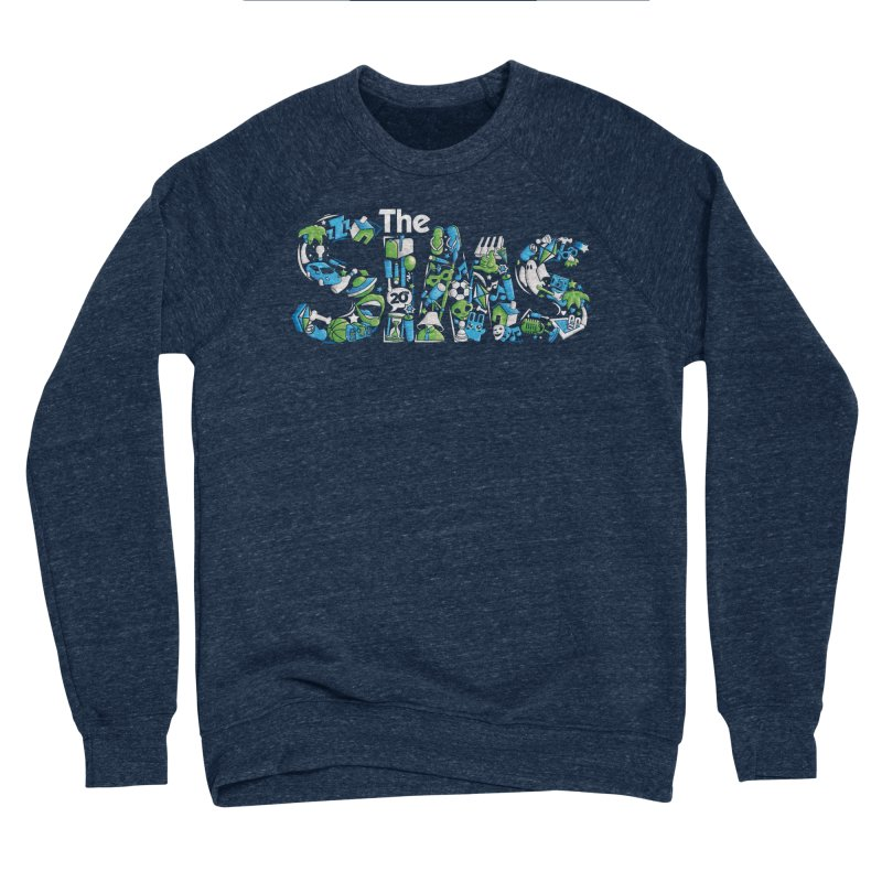 The Sims Men's Sponge Fleece Sweatshirt by The Sims Official Threadless Store