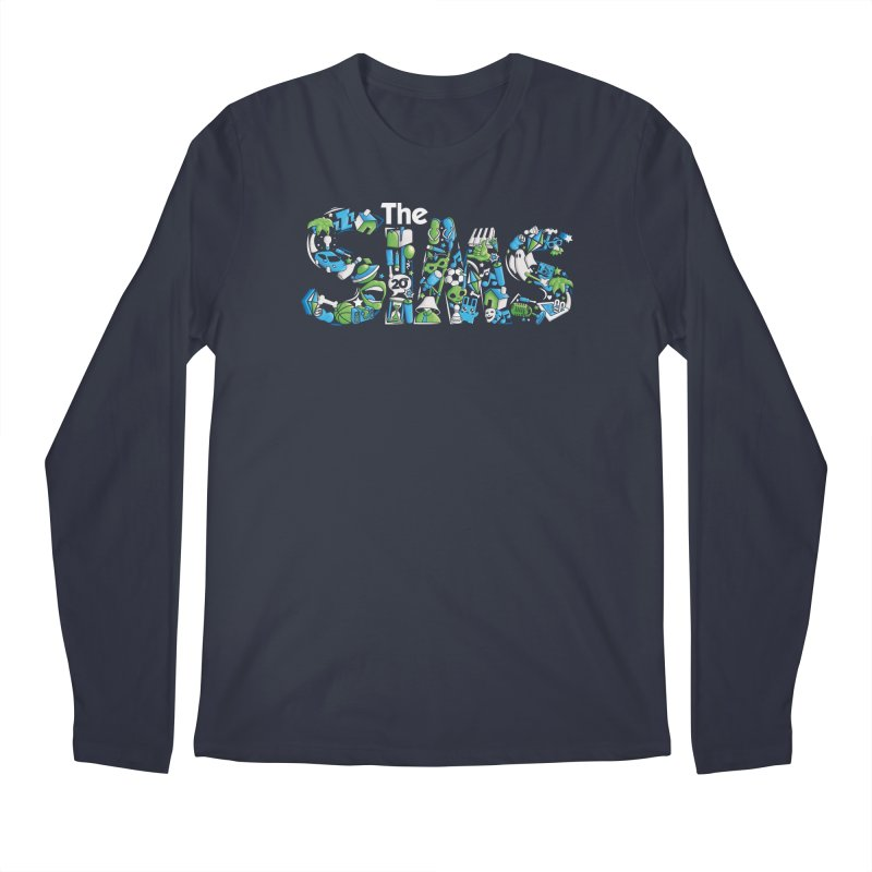 The Sims Men's Regular Longsleeve T-Shirt by The Sims Official Threadless Store