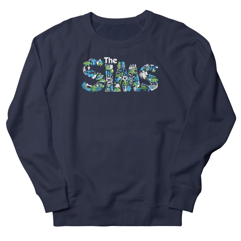 The Sims Men's French Terry Sweatshirt by The Sims Official Threadless Store