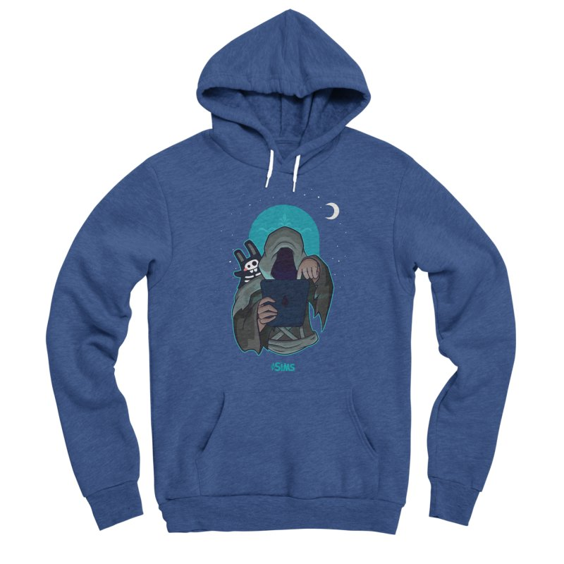 Grim Reaper - Teal Men's Sponge Fleece Pullover Hoody by The Sims Official Threadless Store